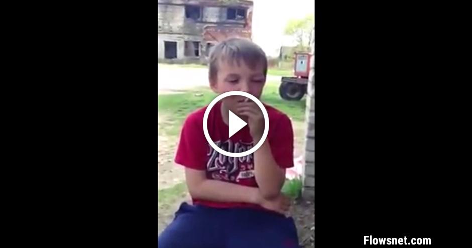 NECENZĒTS VIDEO: DESMITGADĪGS LATVIEŠU ZĒNS SMĒĶĒ