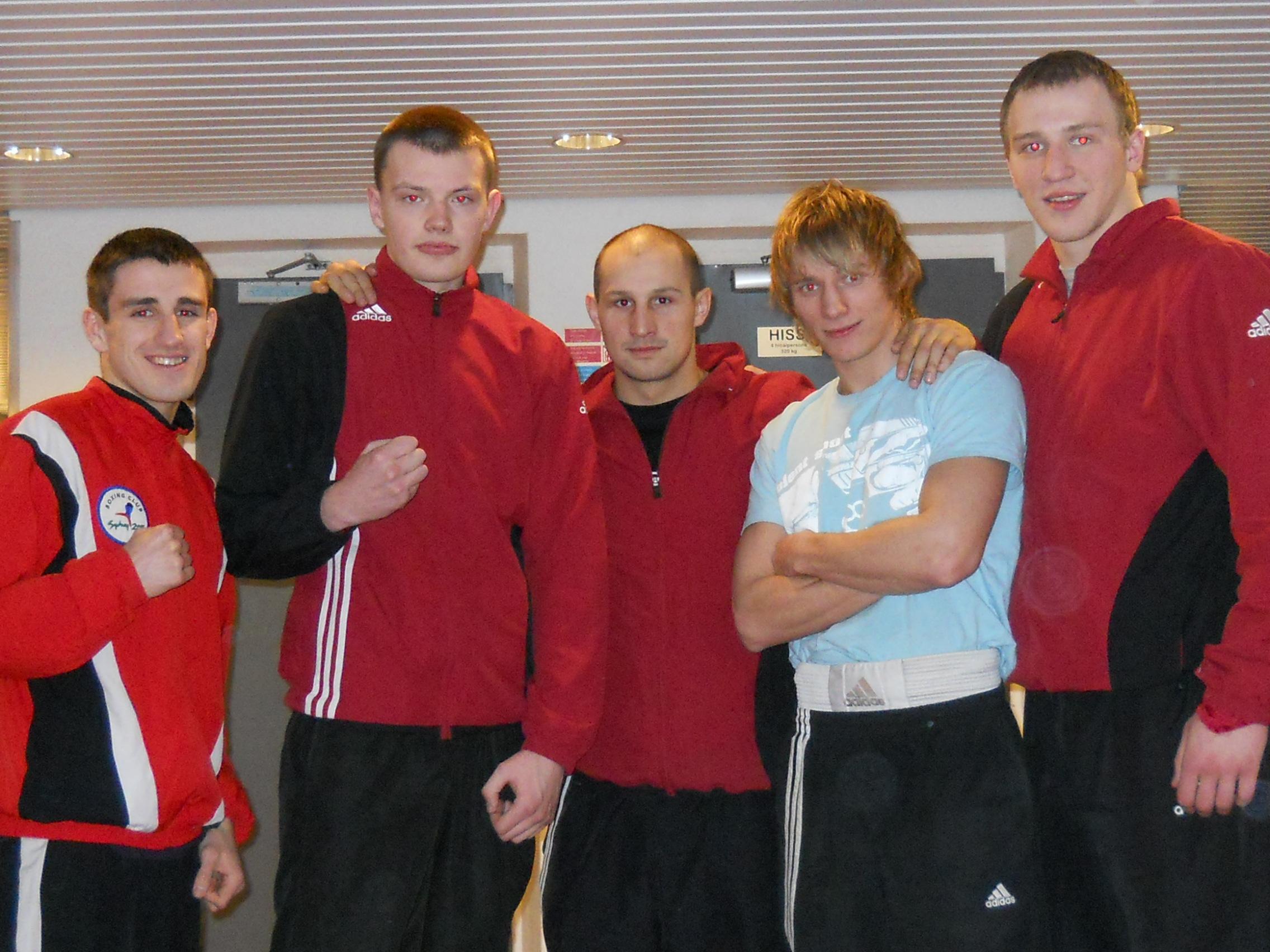 latvia boxing team